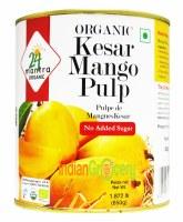 24 Mantra Organic Kesar Mango Pulp 850g