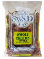 Swad Red Chilli Whole 200g