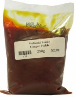 Vellanki Ginger Pickle 250g