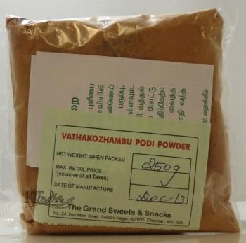 Grand Sweets Vathakozhambu Powder 250g