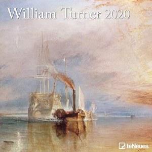 2020 William Turner Wall Calendar