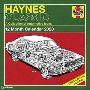 Haynes Classic Car Wall Calendar 2020