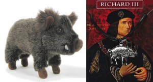 Medieval Wild Boar Soft Toy