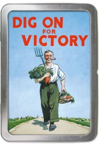Dig For Victory Notecard Tin