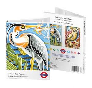 British Bird Posters Notecards