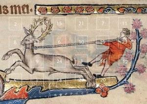 Macclesfield Psalter Advent Calendar and Christmas Card