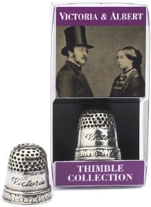 Victoria & Albert Replica Thimble