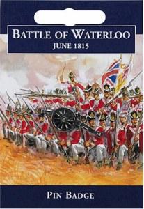 Waterloo Cannon Pin Badge