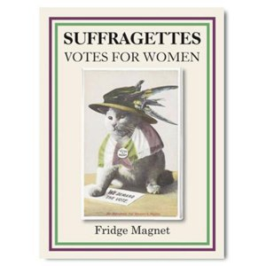 We Demand The Vote Fridge Magnet