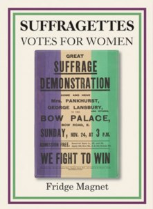 Great Suffragette Demonstration Poster Fridge Magnet