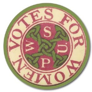 WSPU Votes For Women Coaster