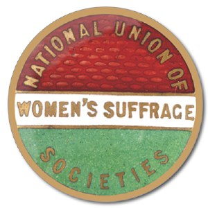National Union Of Women's Suffrage Coaster