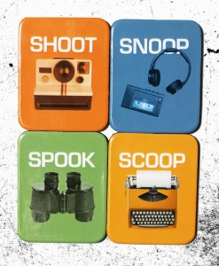 Snoop, Shoot, Spook, Scoop Magnet Set