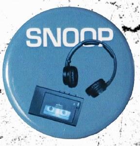 Snoop Button Badge