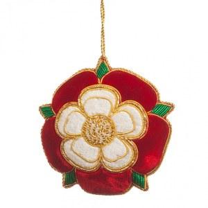 Tudor Rose Tree Decoration