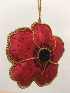 Poppy 1914-1918 Tree Decoration