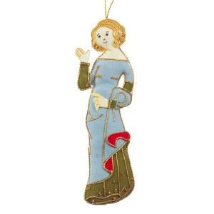 Medieval Princess Tree Decoration