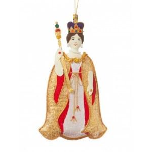 Queen Victoria Tree Decoration