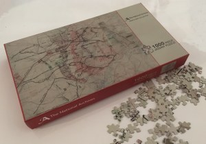 Trench Map Jigsaw