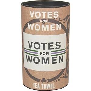 Votes For Women Tea Towel