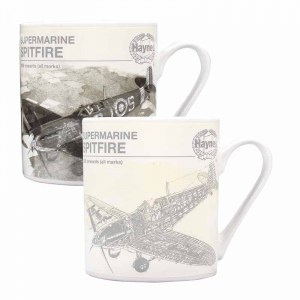 Spitfire Heat Changing Mug