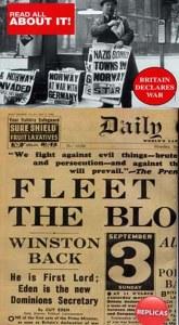 Replica Newspaper Britain Declares War