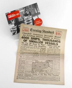 D-Day Replica Newspaper