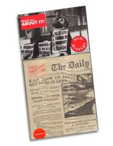 Replica Dambusters Newspaper