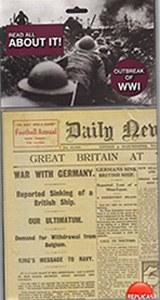 Replica First World War Newspaper