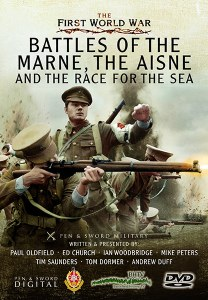 Battles of the Marne, The Aisne and the Race For the Sea DVD