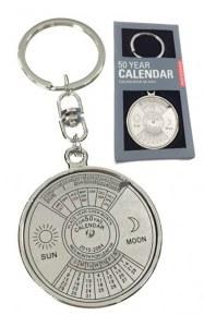 50 Year Calendar Keyring
