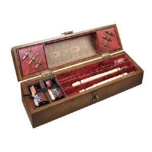Wooden Writing Box