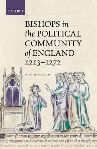 Bishops in The Political Community of England 1213-1272