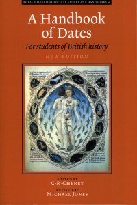 A Handbook of Dates For Students Of British History