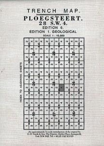 Trench Map : Ploegsteert 28 SW4 Edition 4B    (Ypres Salient)