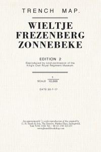 Trench Map : Wieltje, Frezenberg, Zonnebeke