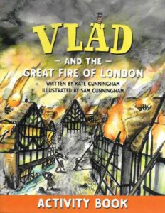 Vlad And The Great Fire Activity Book