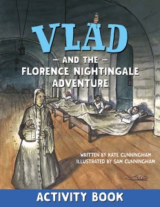 Vlad And The Florence Nightingale Adventure Activity Book