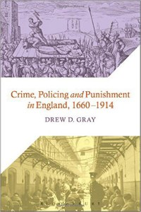 Crime, Policing And Punishment In England 1660-1914