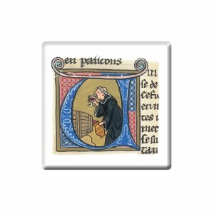 Quaffing Monk Coaster