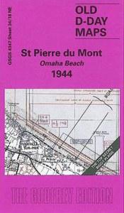 D-Day Maps Omaha Beach D-Day Map 1944