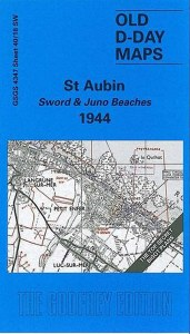 D-Day Maps Sword & Juno Beaches 1944