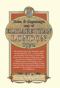 Braun & Hogenberg's map of Elizabethan London 1572