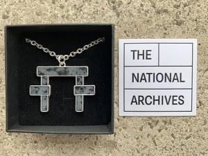 The National Archives Pillar Pendant