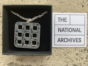 The National Archives Square Pendant