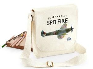Spitfire Canvas Messenger Bag
