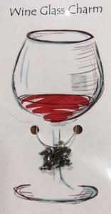 Medieval Dragon Wine Charm