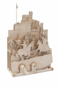 Medieval Mayhem Mechanical Wooden Model Kit