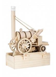 Stephenson's Rocket Mechanical Wooden Model Kit