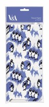 Tissue Paper Sheets Penguin Print
